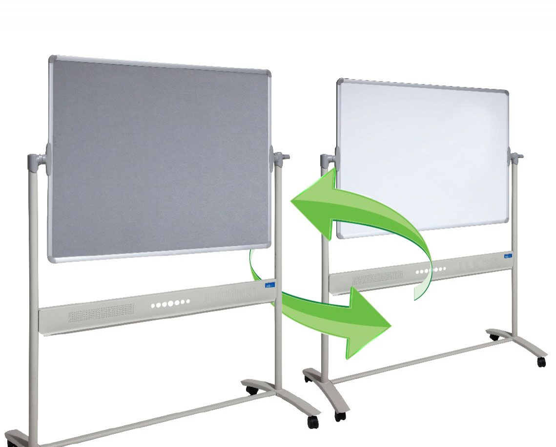 Mobile Combo Whiteboard/ Pinboard