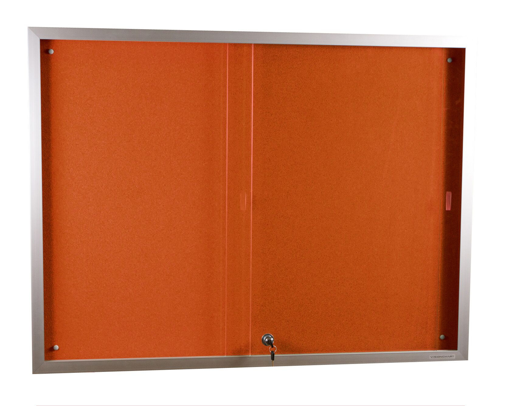 Sliding Lockable Safety Glass Fronted Cases
