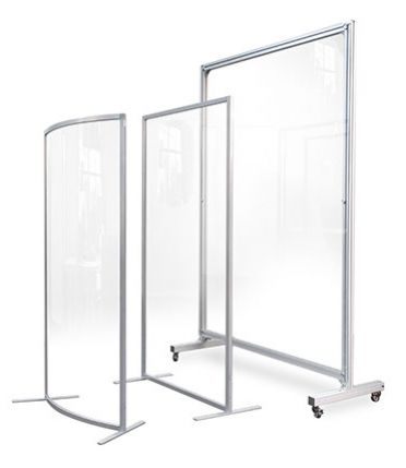 Clear Screen Protection *Freestanding or Mobile*