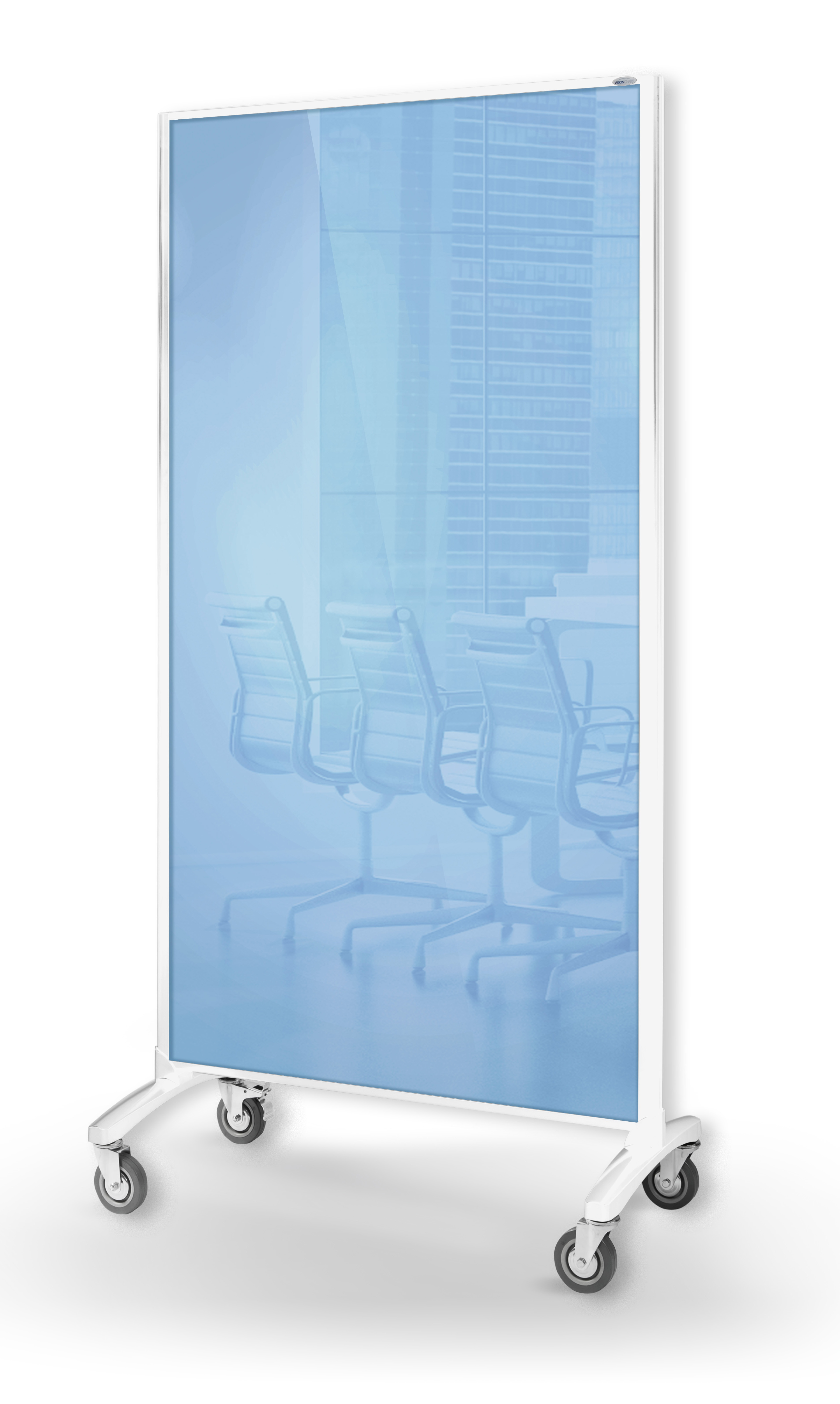 Communicate Room Divider - Glassboard *Blue*