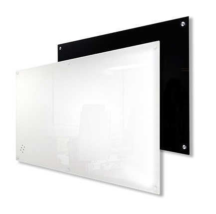 Black and White Magnetic Glassboards