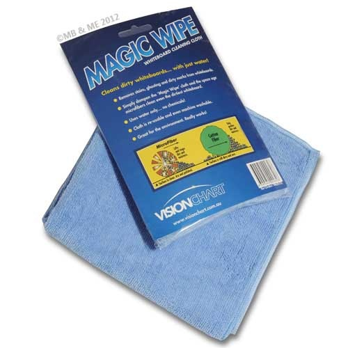 Magic Wipe Microfibre cleaning cloth for WhiteBoards & GlassBoards