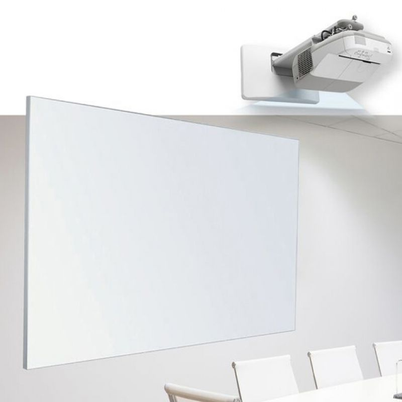 Wall mounted Mat Porcelain Projection Whiteboards Perth