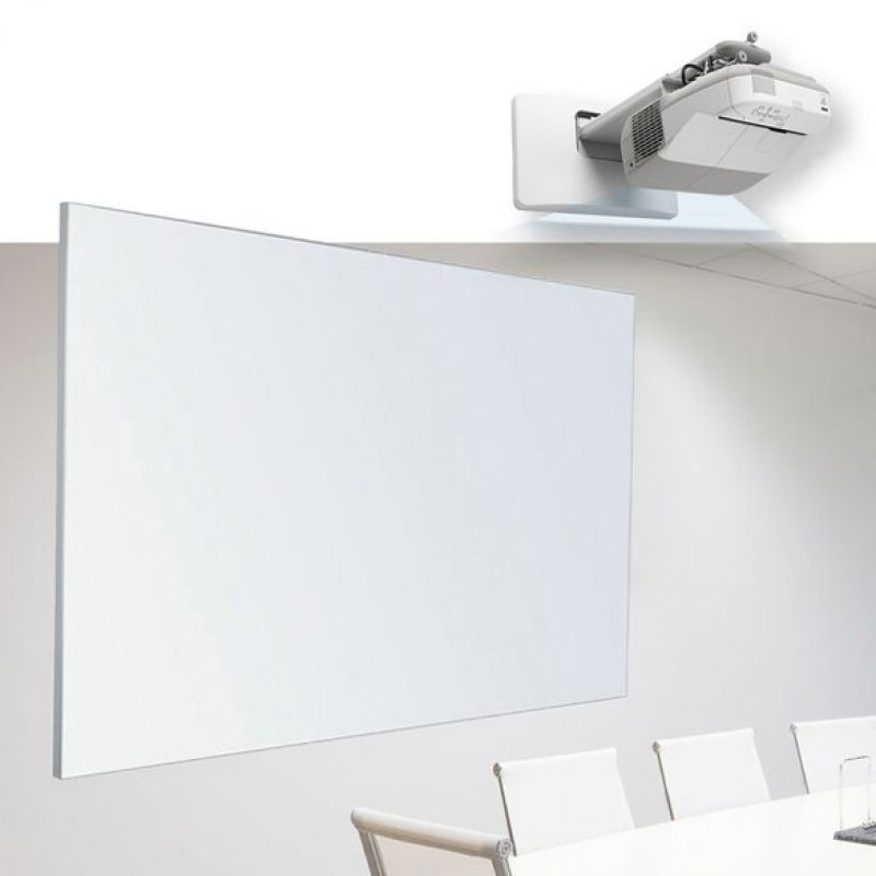 Wall mounted Mat Porcelain Projection Whiteboards Adelaide
