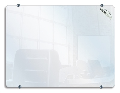 Clarion Glassboard - WHITE