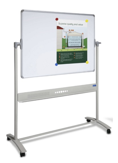 Porcelain or Commercial MOBILE Whiteboard