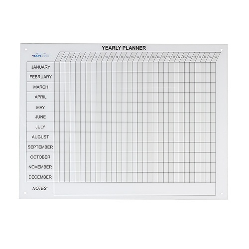 1200 x 900 Glass Year Planner