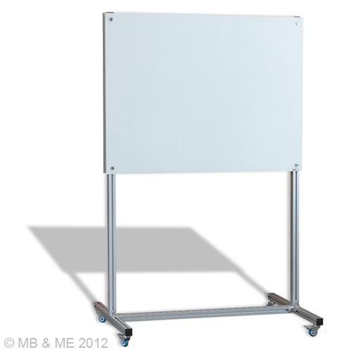 Glassboard on Mobile Element Stand