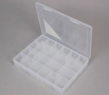 Compartment Box to hold letters & numbers