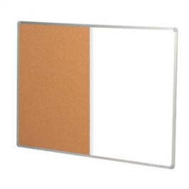 Combo Whiteboard/ Cork Board