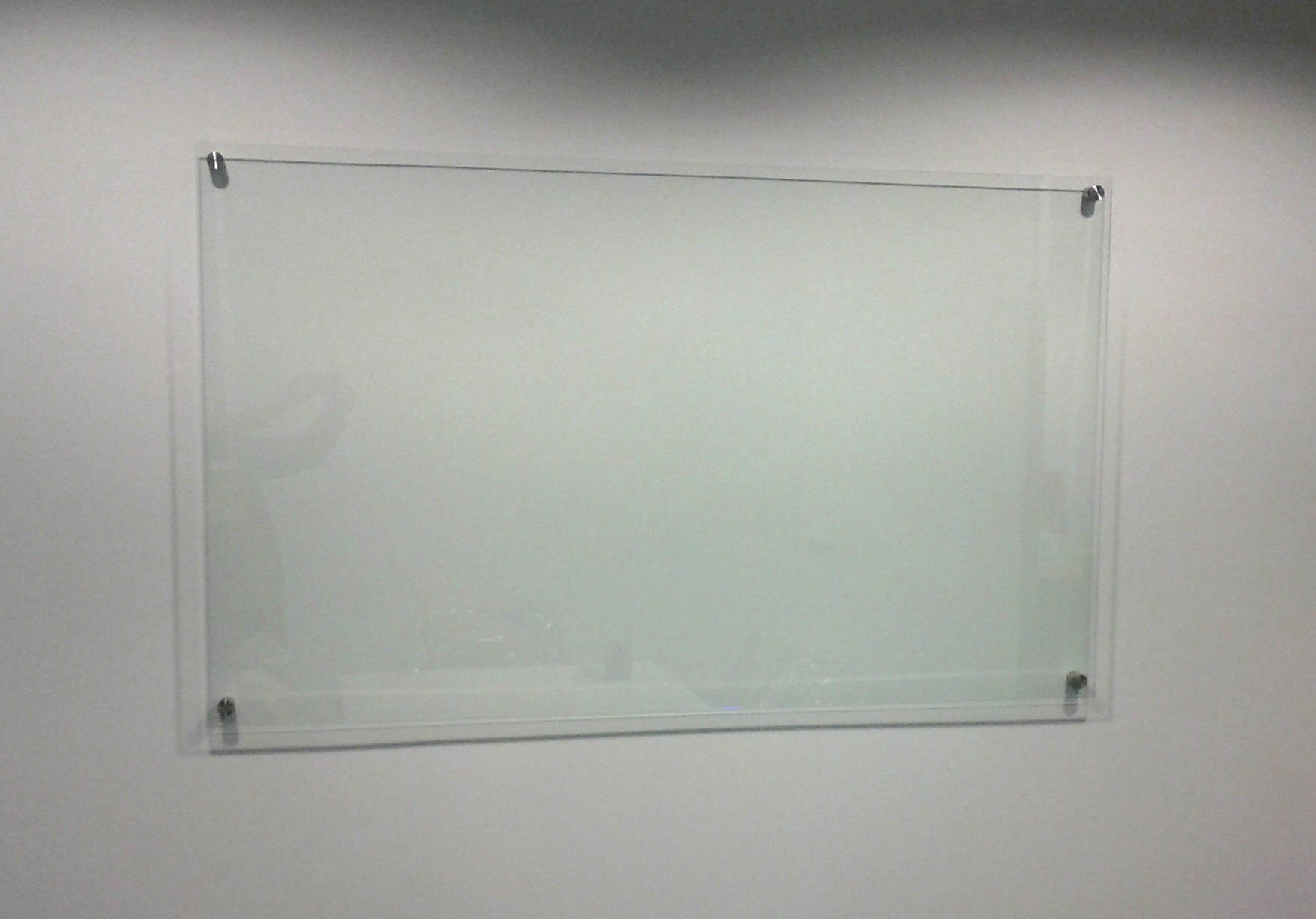 Clear Glassboard *Starphire Glass* - no green tinge