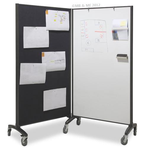 Communicate Room Divider at 90 Degrees