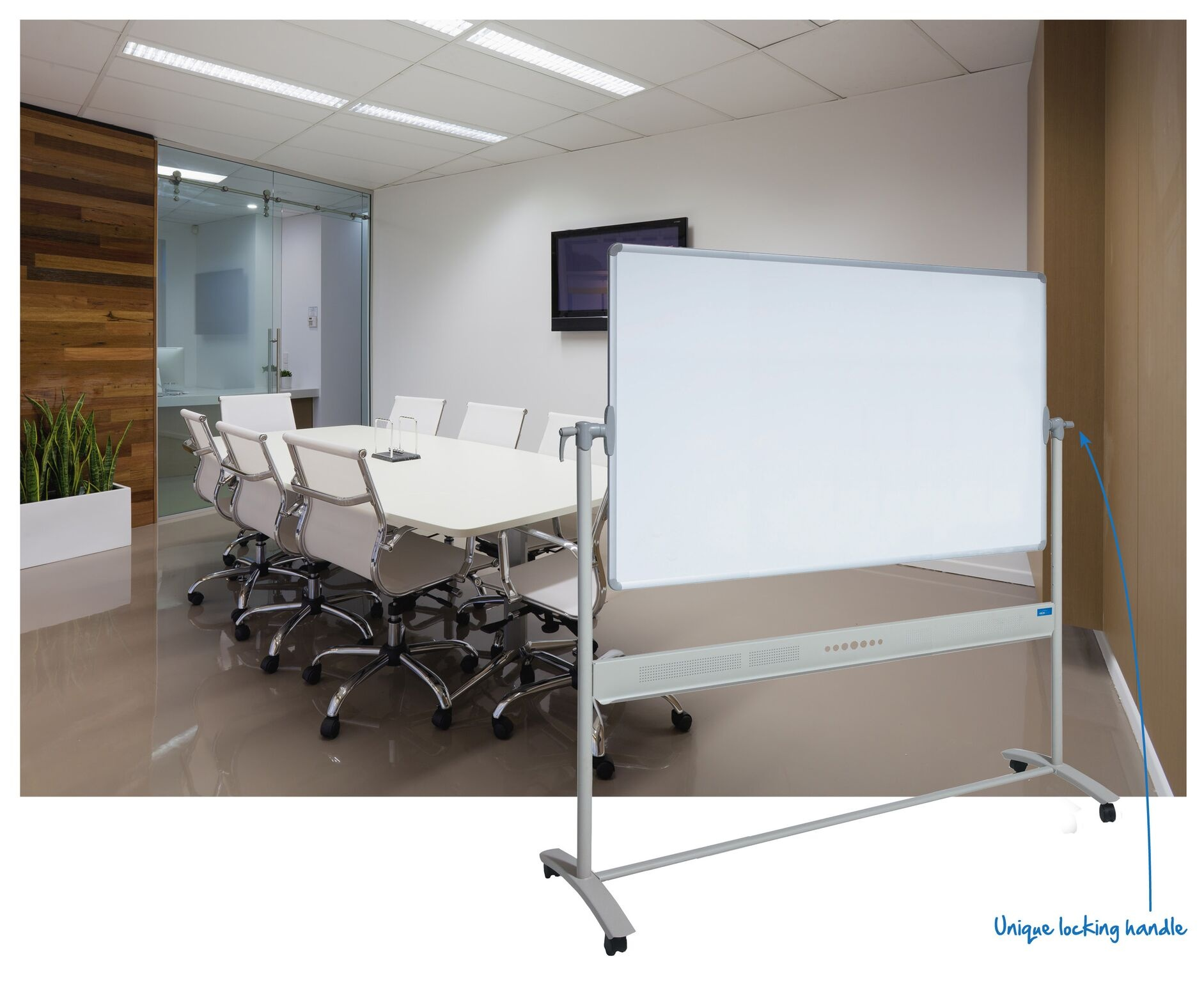 Commercial/ Porcelain Mobile Whiteboard
