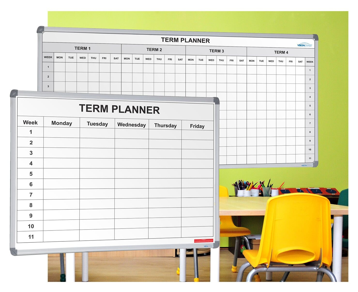 1 Term and 4 Term Planners