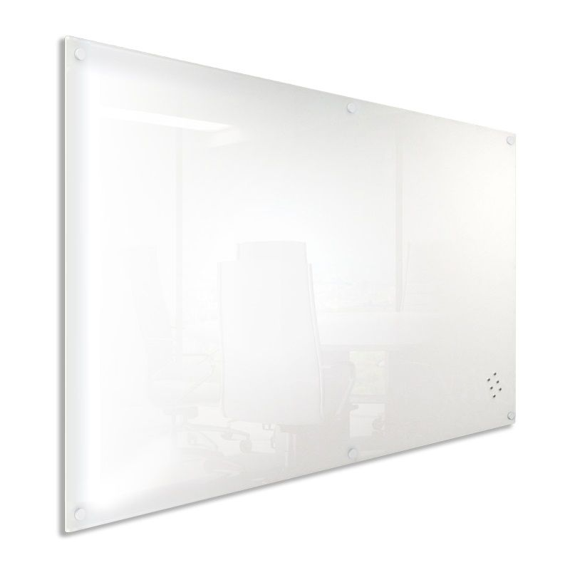 Wall Mounted Magnetic White Glassboards Perth