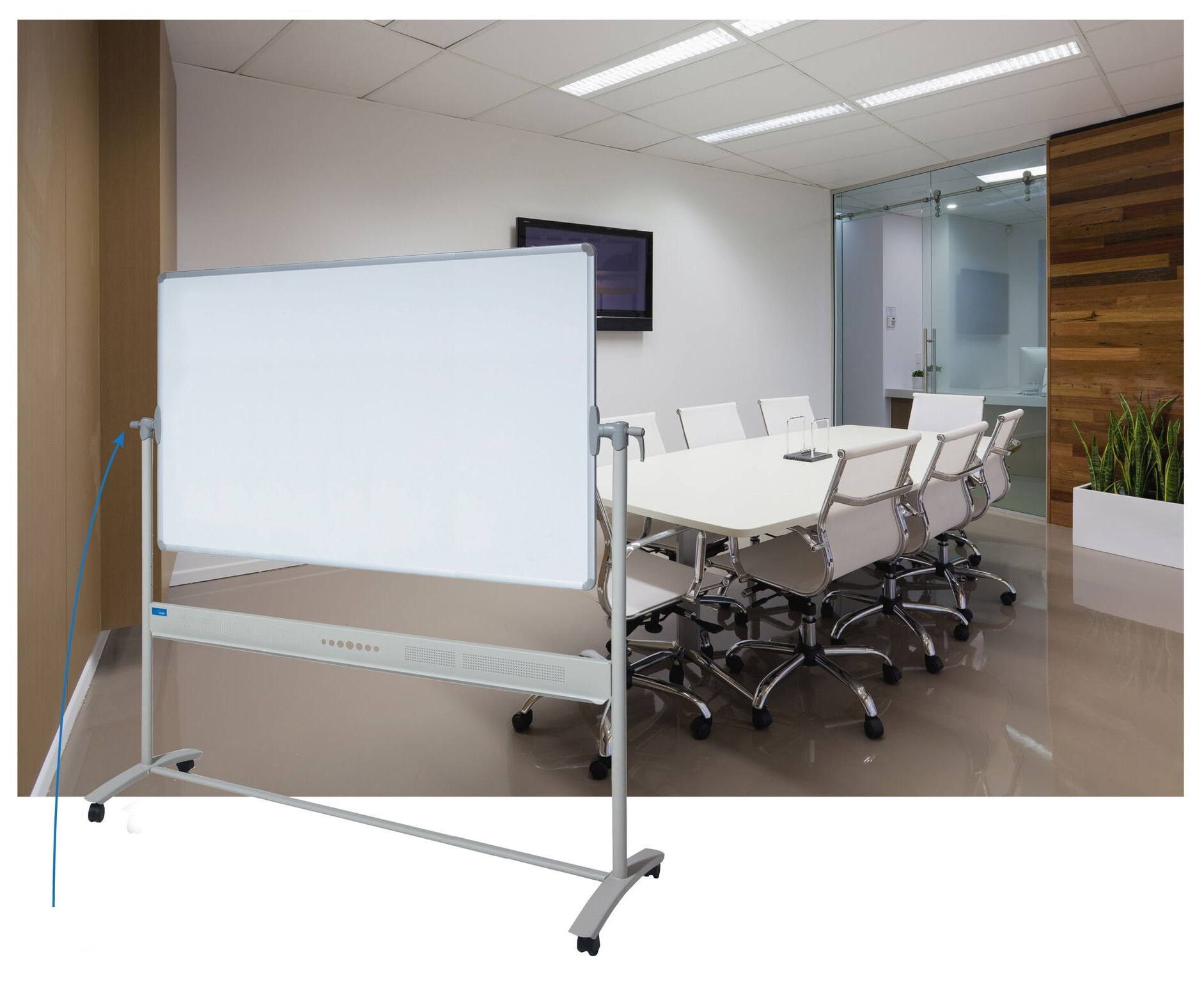 Porcelain Portable Whiteboard